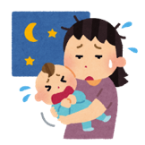 夜驚症と夜泣き